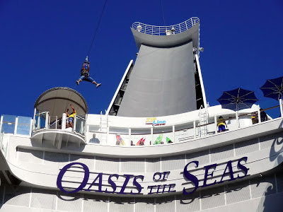 Oasis of the Seas Zip Line