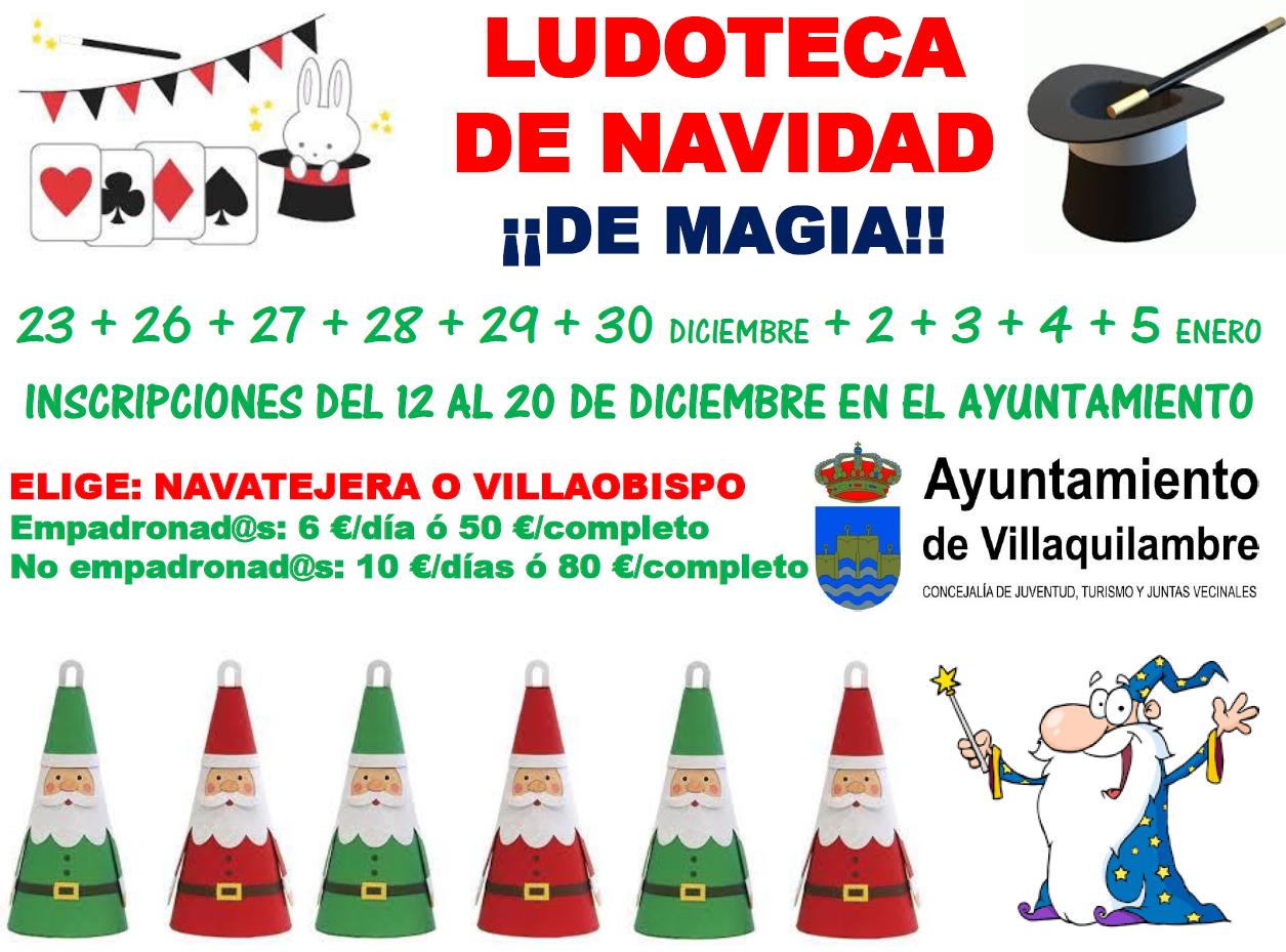 Ludoteca de Navidad de Magia!!