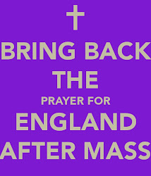 Bring Back the Prayer for England