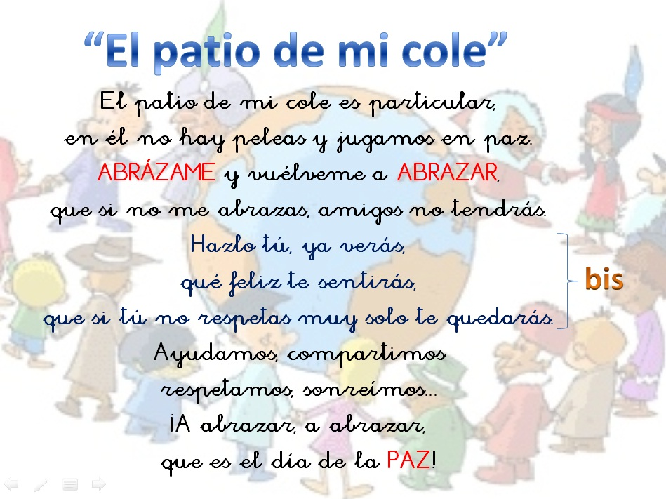 """DIRIDIRI TA - ¡Música, maestros!: Canción: """"El patio de mi cole"""""""