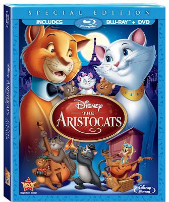 The Aristocats Bluray DVD