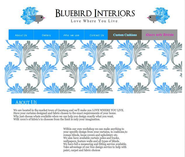 . Panoply  SPONSORS  BLUEBIRD INTERIORS