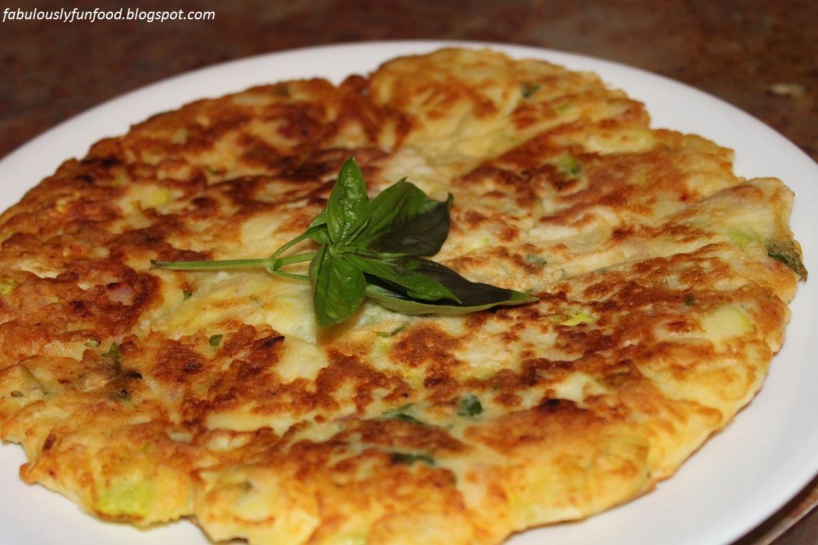 Zucchini, Ham And Ricotta Fritters Recipe — Dishmaps