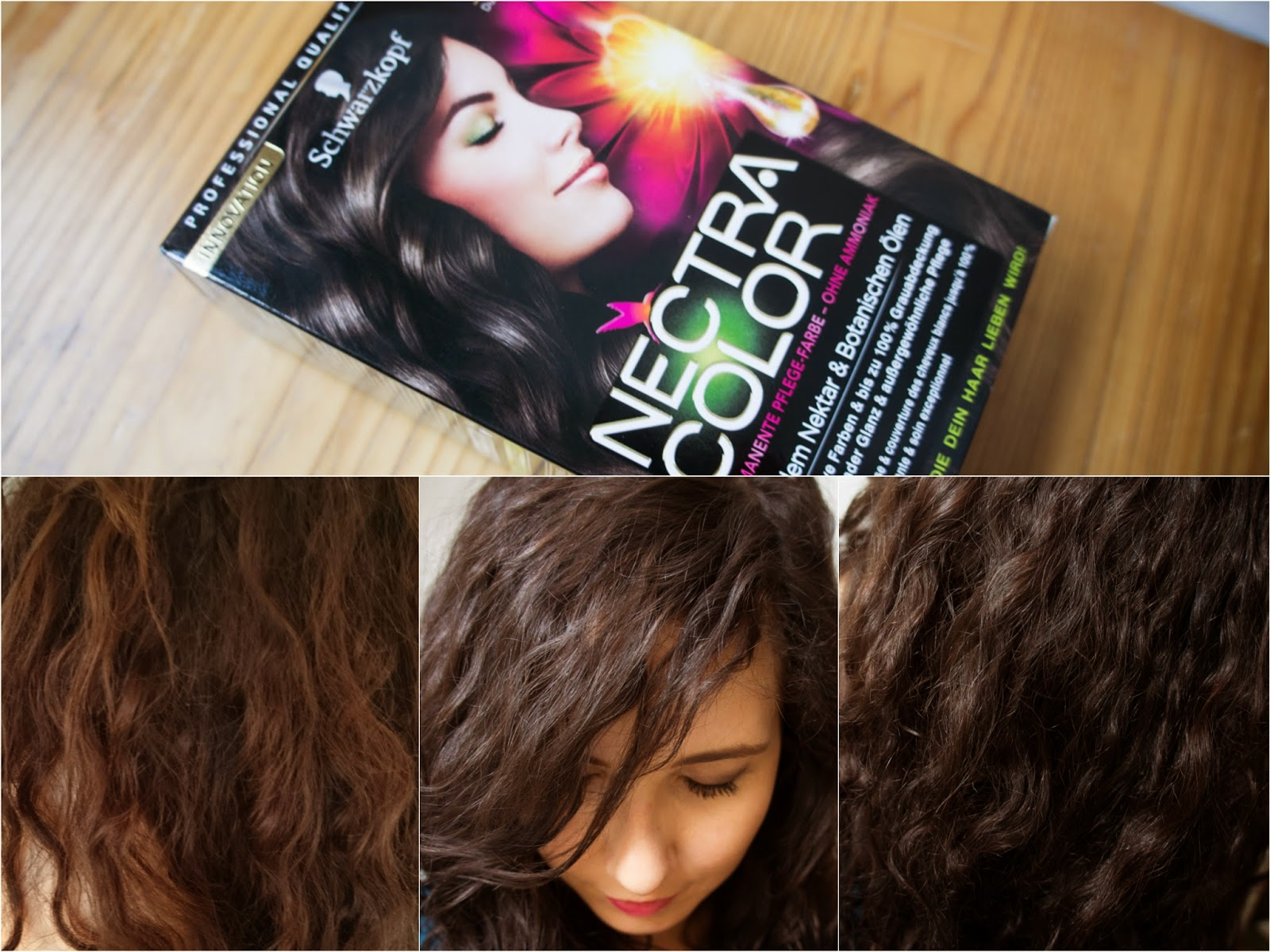 as ive been dyeing my hair for about 6 years now they needed a new color pretty urgent my last color didnt last long i will explain this shortly at the - Nectra Color Schwarzkopf