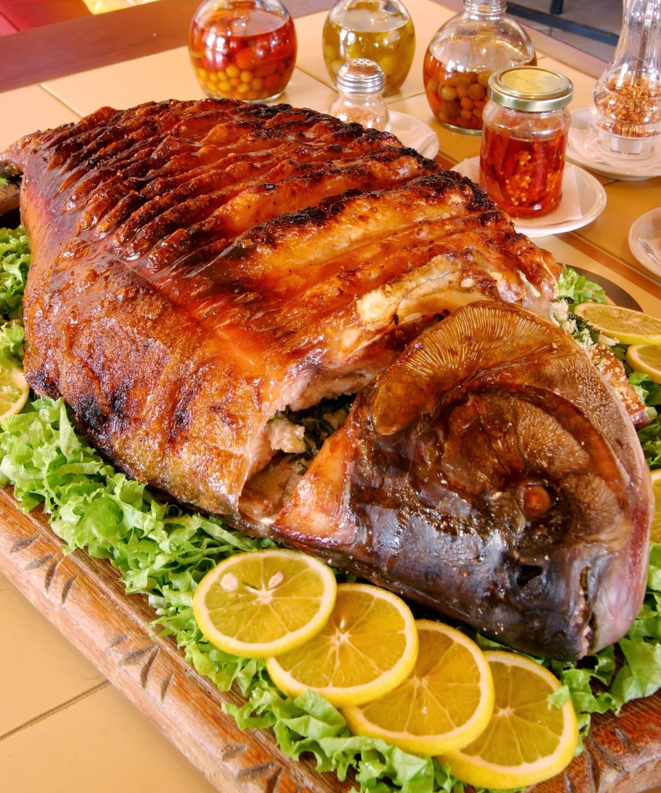 Receitasdeliciosas peixe assado for Carpa comida