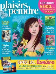 Ma dernière parution : Plaisirs de Peindre n°71 (juin/août 2018)