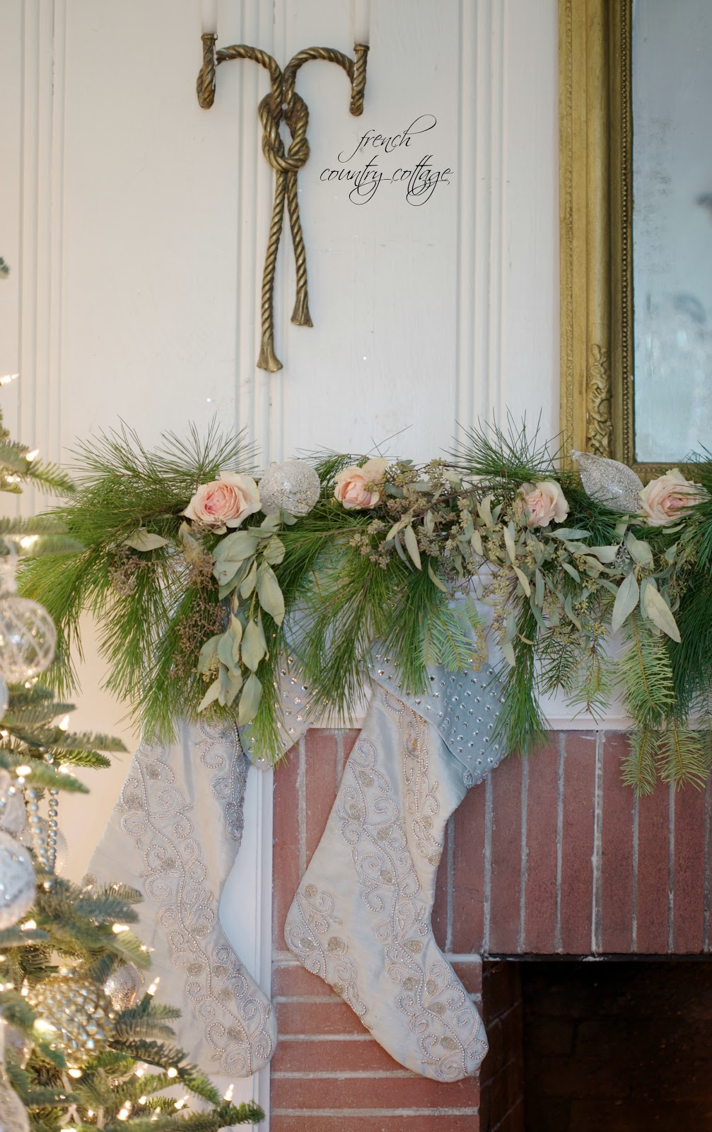 Flower Friday DIY Fresh Garland FRENCH COUNTRY COTTAGE