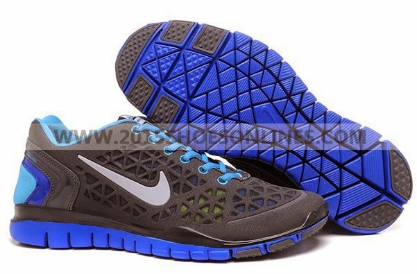 2012 Nike Free Run  2 Men Shoes Blue Black Green