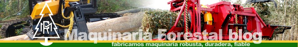 Monra Forestal: cabezal Monra 600 & compactadora empacadora Enfo 2000