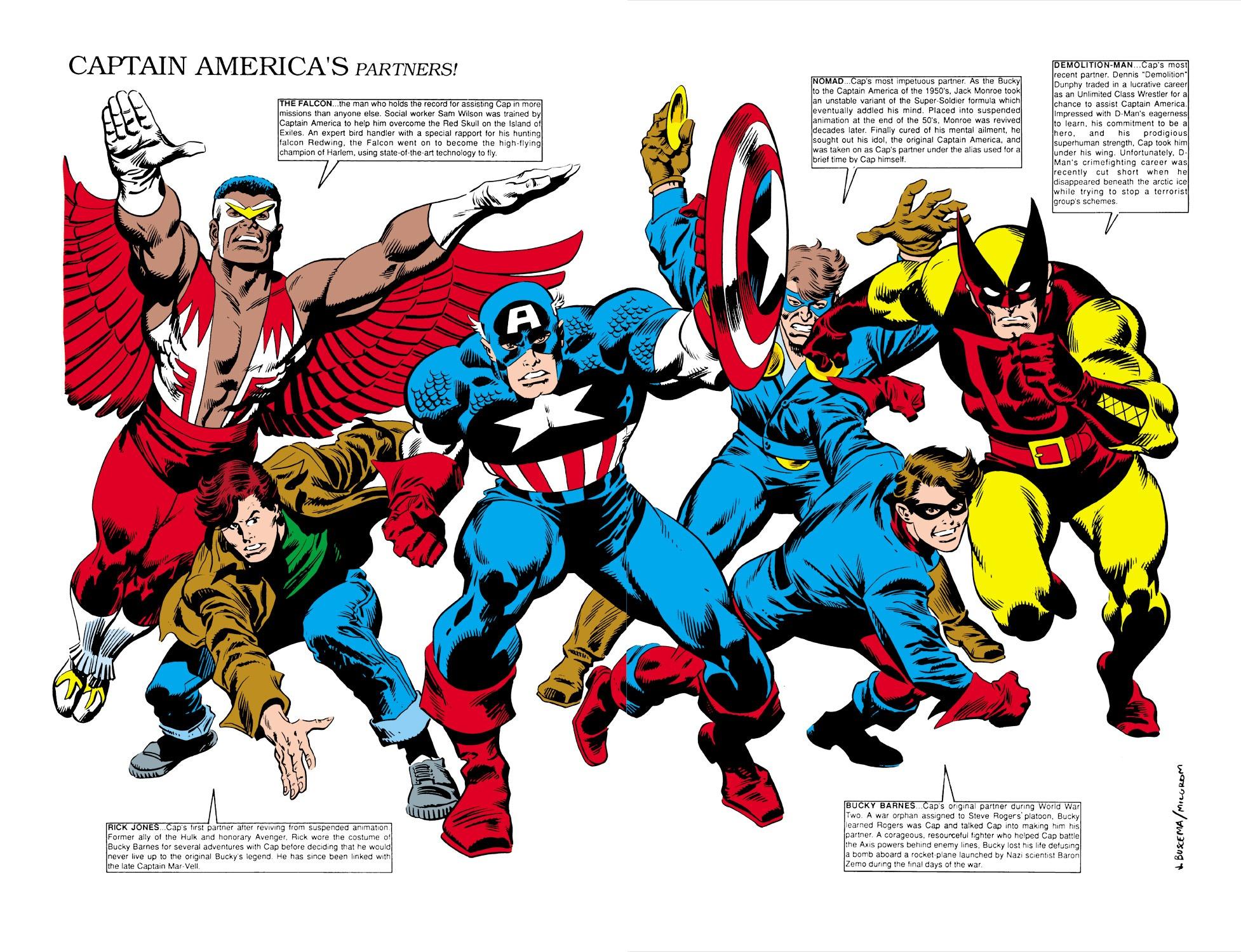 Captain America (1968) Issue #350 #282 - English 42