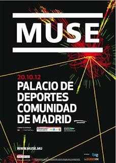 Muse en concierto en el Palacio de deportes de Madrid