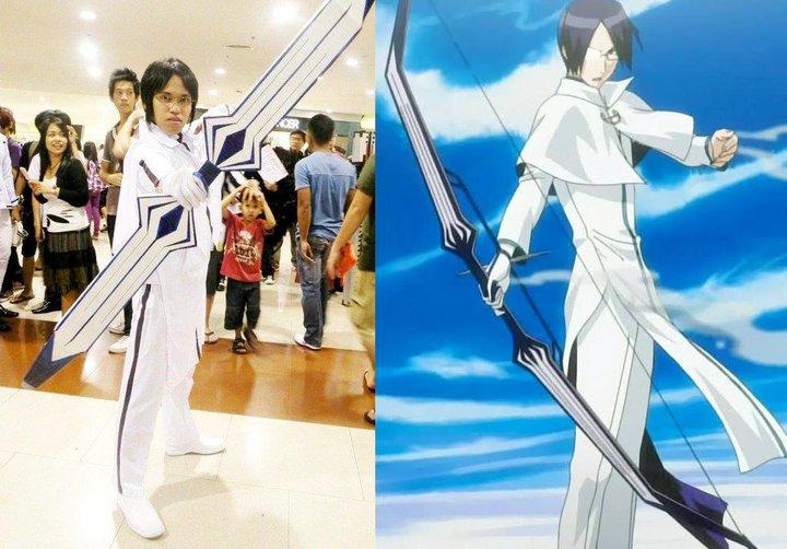 Uryu Ishida Bow Ury Ishida is a Bespectacled