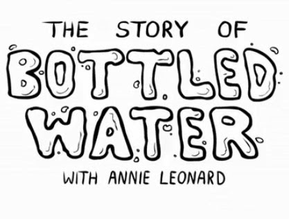 story of bottle water annie leonard