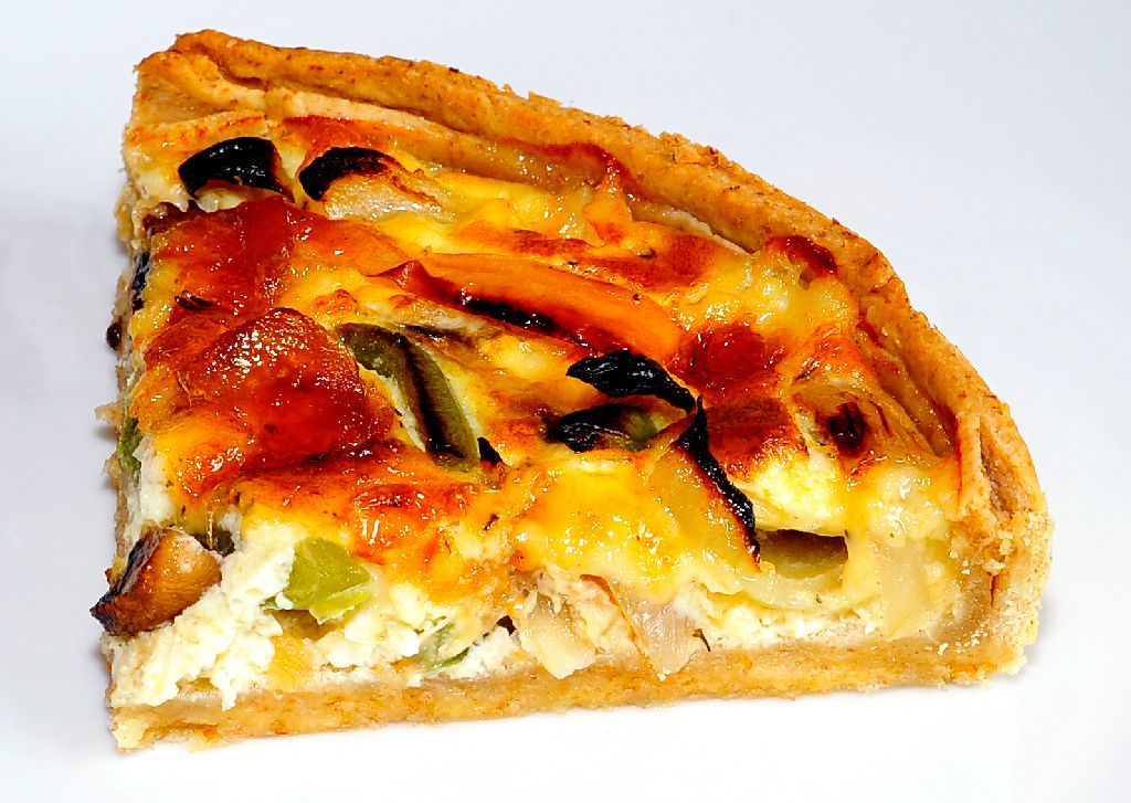 Roasted Vegetable Cheddar Quiche Recipes — Dishmaps