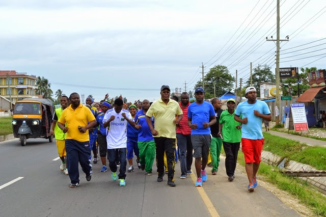 Nape ashiriki Jogging Tegeta