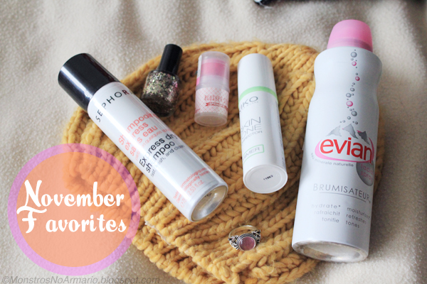 November Favorites with VIDEO!!