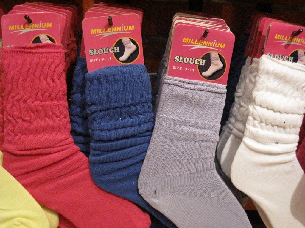 Slouch sock porn
