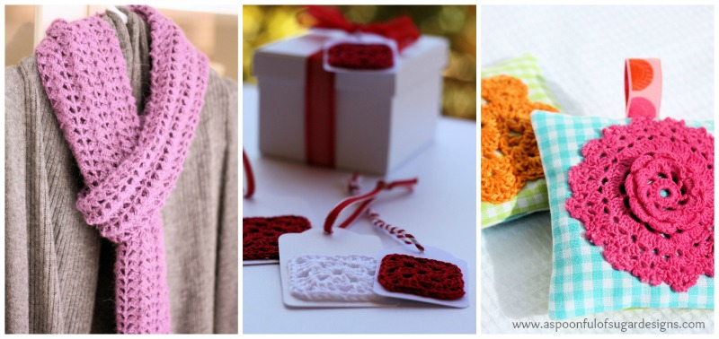 Easy Crochet Scarf Free Pattern A Spoonful Of Sugar