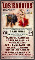 Cartel de la Final del IV Encuentro Provincial de Escuelas Taurinas de Cádiz