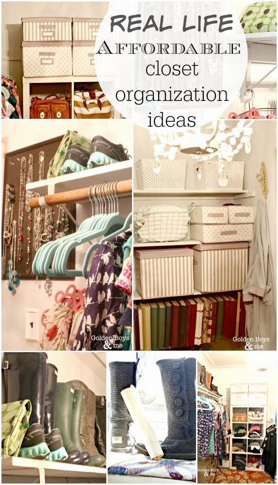 Affordable closet organization ideas-www.goldenboysandme.com