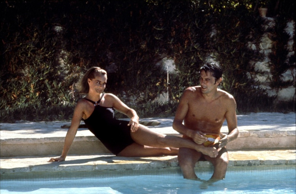 Diet coke blues la piscine 1969 for Alain delon la piscine