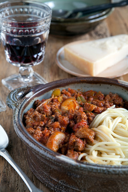Cafe Lynnylu: Pasta Rustica with Italian Sausage-A Recipe ...