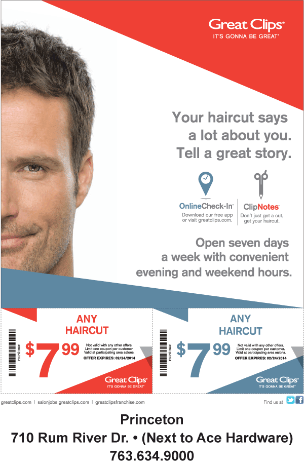 Great clips discount coupons printable