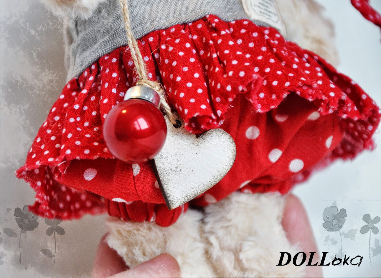 Козочка-символ 2015 года,текстильная игрушка ручной работы