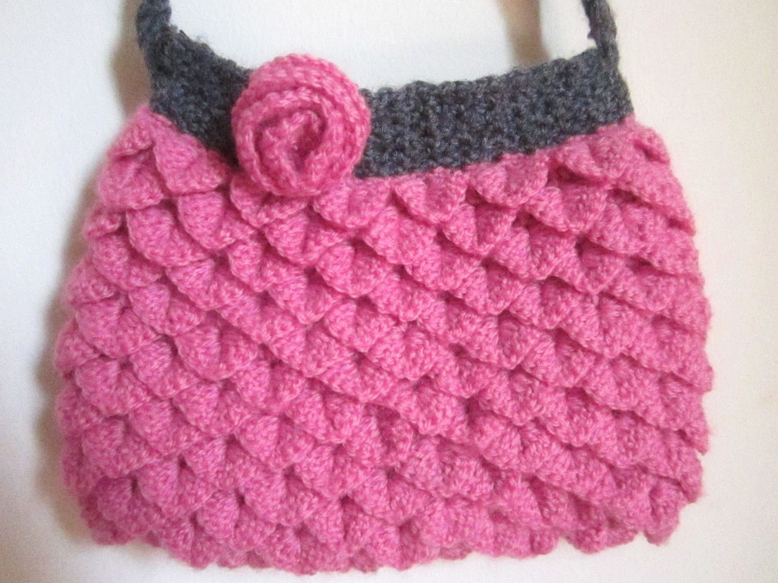Crochet Easter Bag Pattern : A little love everyday!: My crochet project : Mermaid ...