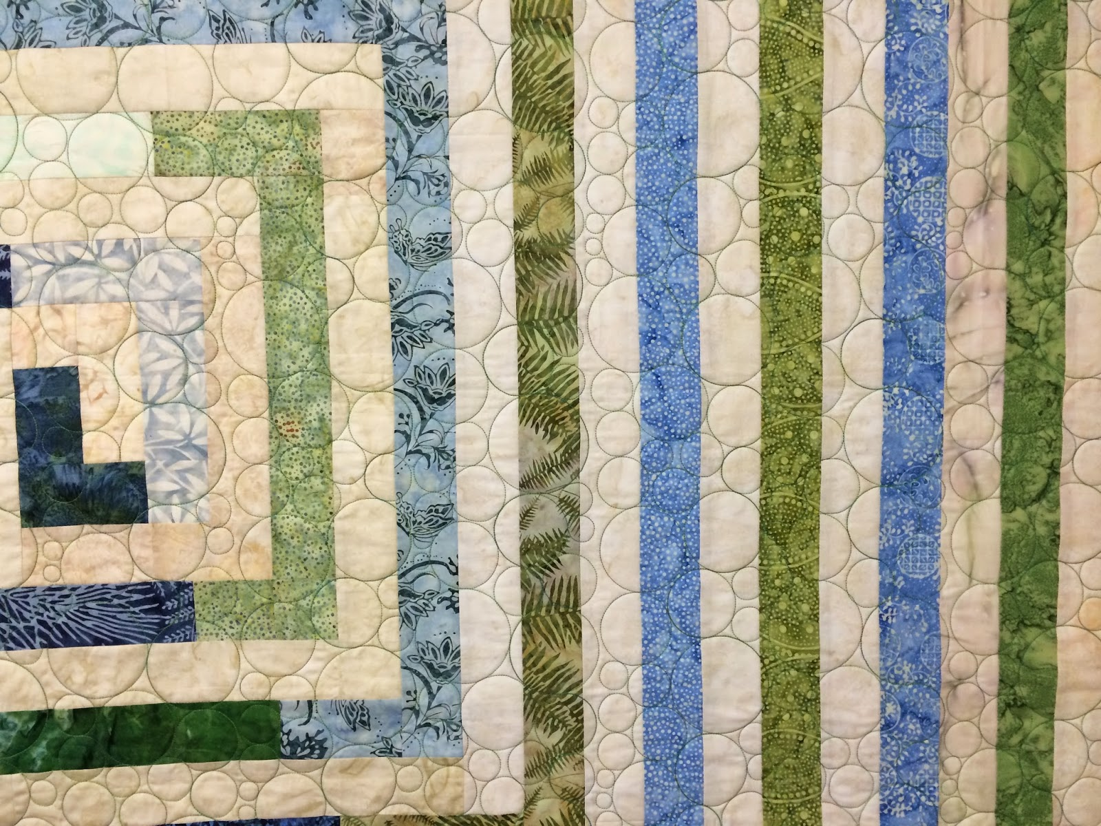 Peggy Krebs Thin Square Quilt