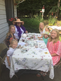 2017 Garden Tea with friends