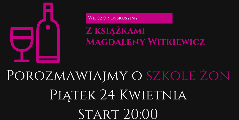 http://www.jusssi.pl/2015/04/wieczor-dyskusyjny-z-ksiazkami.html?utm_source=feedburner&utm_medium=feed&utm_campaign=Feed%3A+KsikiWinoIJa+%28Ksi%C4%85%C5%BCki%2C+wino+i+ja%29