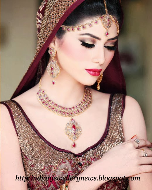 Bride Jewellery Designs 2014