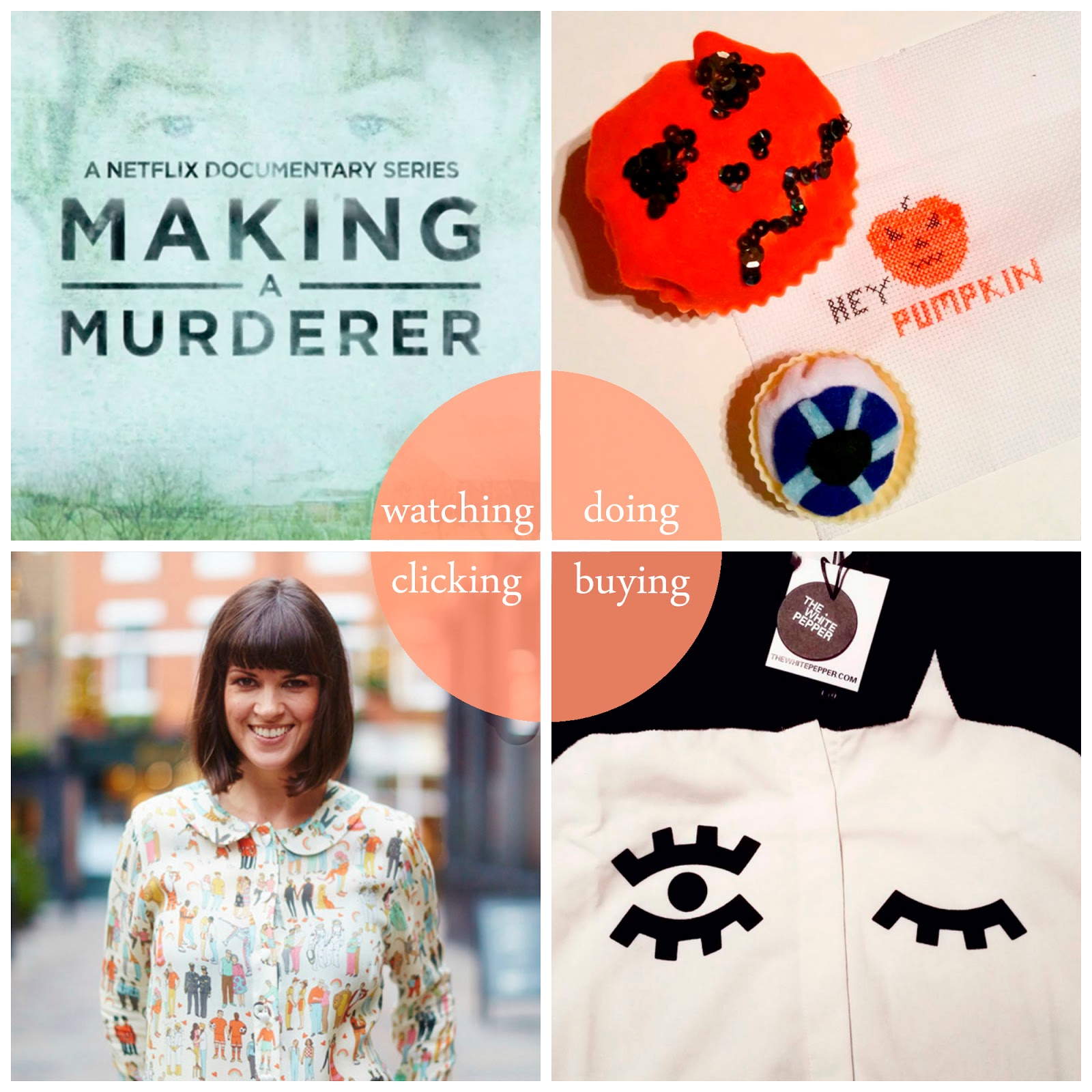 Round up, best bits, blogger favourites, January 2016, Making a Murderer, Say It ain't sew Dundee, Dundee Sewing club, The Whitepepper, BOB by Dawn O'Porter, The Equality Collection
