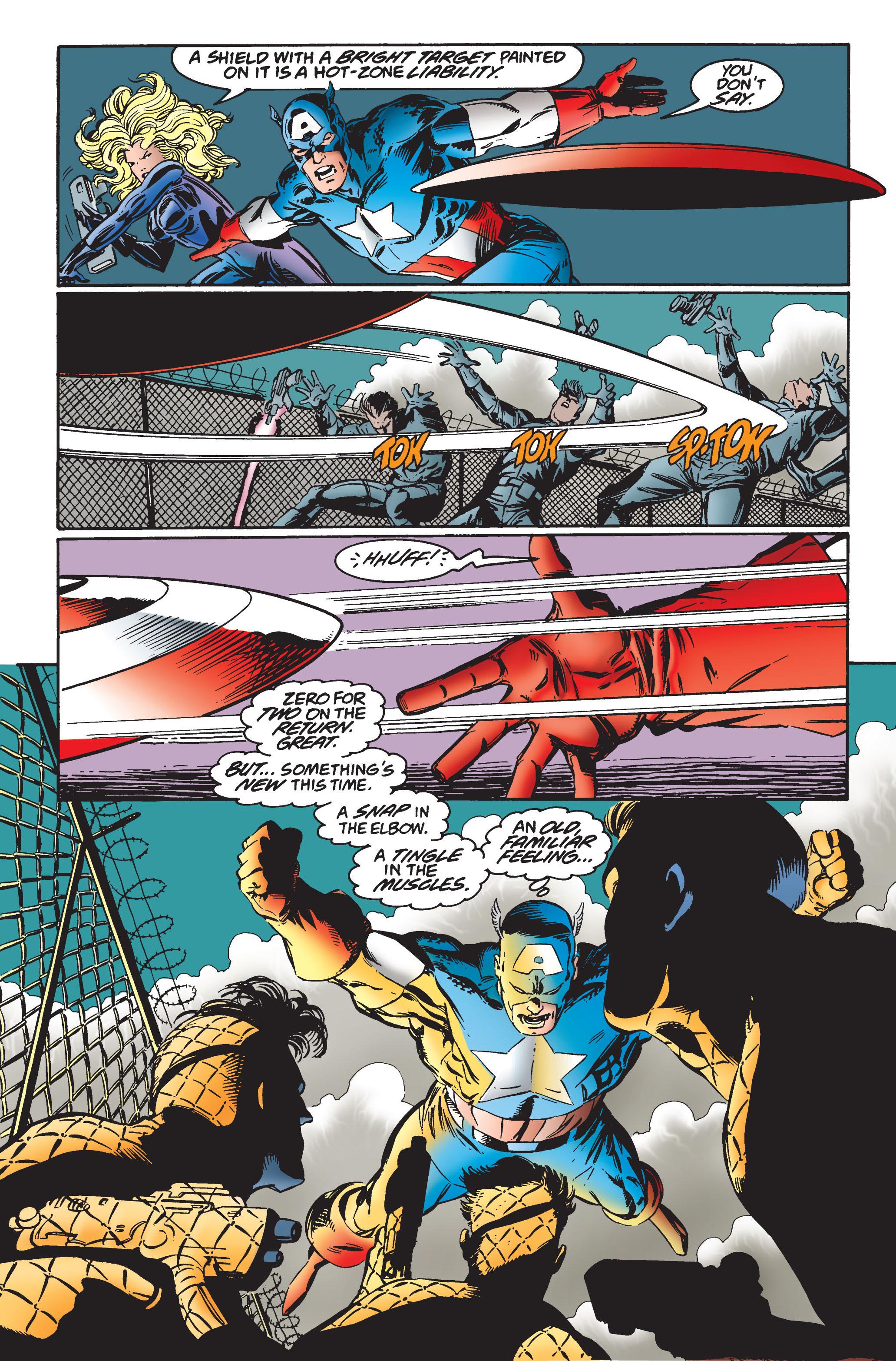 Captain America (1968) Issue #445 #399 - English 16