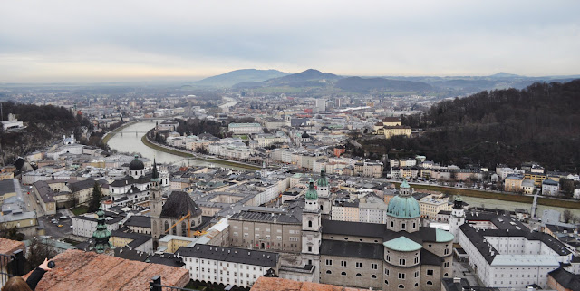 View from the Hohensalzburg, Castle