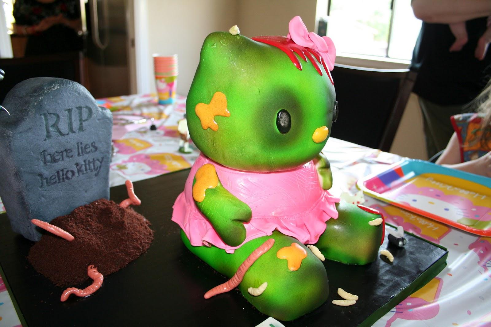 Zombie Hello Kitty Cake Stellar Four: Seven Sw...