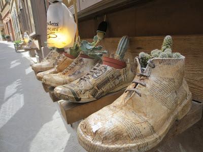 Pala Italiaa - Kaktus kengässä