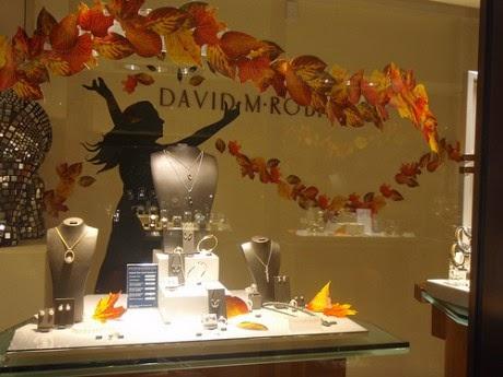 Autumn Leaves Display