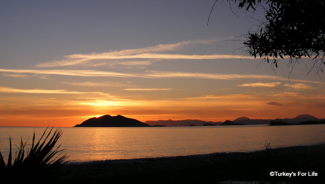 Sunset At Koca Calis in Fethiye