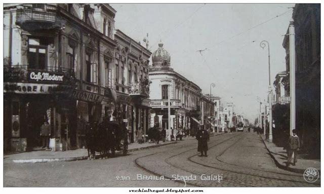 Strada Galati din Braila Veche