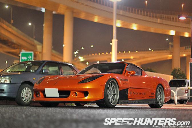 Mazda RX-7 FD3S zdjęcia fotki po tuningu zmodyfikowana japoński sportowy samochód jdm bodykit ekstremalny tuning przebudowa