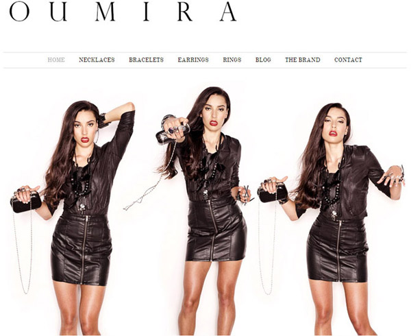 Oumira Biker Chic - Fashion Jewellery Campaign - Fujifilm X-Pro1