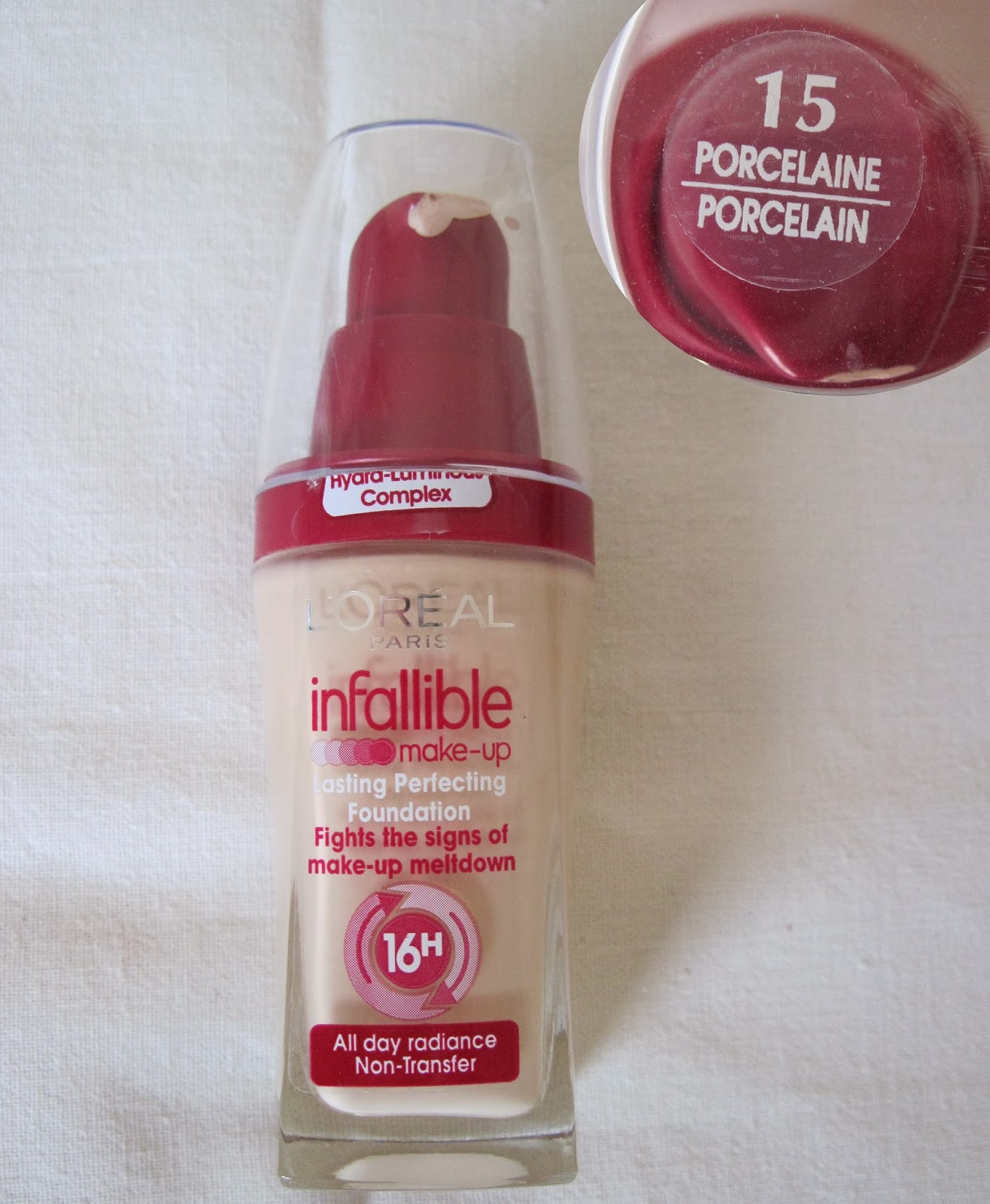 DISC Loreal Infallible Powder Mahogany 370 Source · L Oreal Infallible Foundation Review&Swatches Cristina Elena