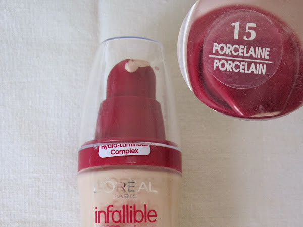 L'Oreal Infallible Foundation Review&Swatches
