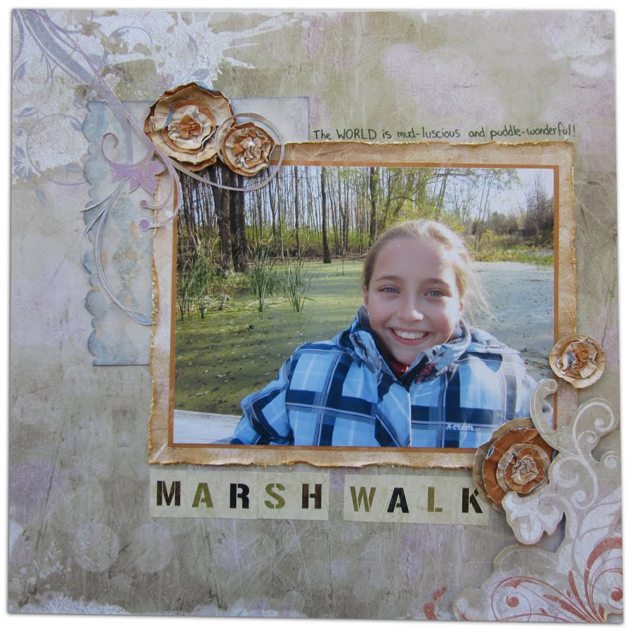 16 nov : Marsh Walk - Sketch027 Magenta MarshWalk
