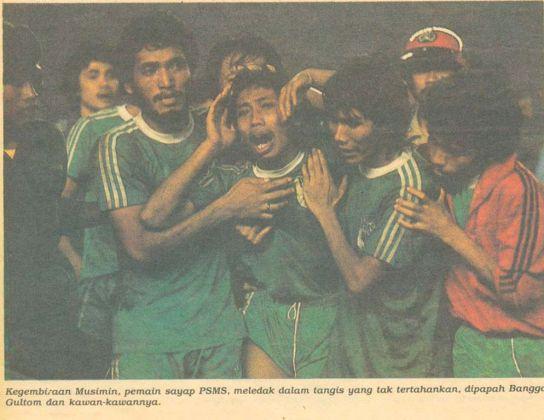 Final Divisi Utama Psms vs Persib Era Perserikatan 1985 ...
