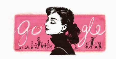 Google homenajea a Audrey Hepburn en el 85º aniversario de su nacimiento