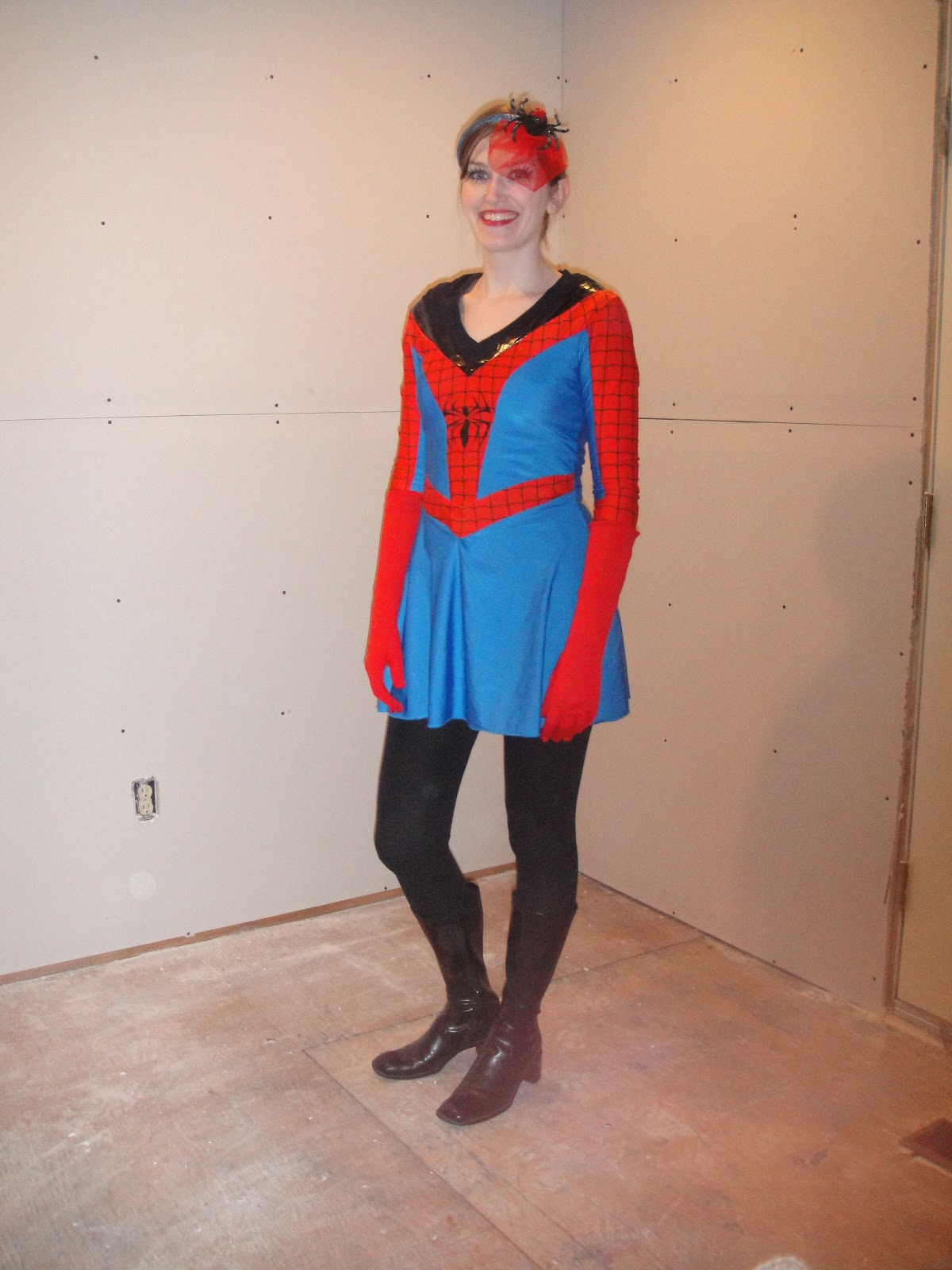 ... $50) for $9 on eBay. Iu0027ll never buy a new costume again! I realize I look more like an ice skater than a superhero but I still think it was cute.  sc 1 st  BiblioBags & BiblioBags: Where Every Purse has a Story...: October 2011