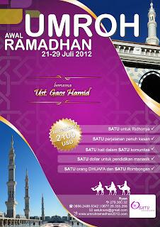 PAKET UMROH RAMADHAN 2012